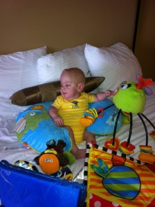 Jacob at his first IAHP visit